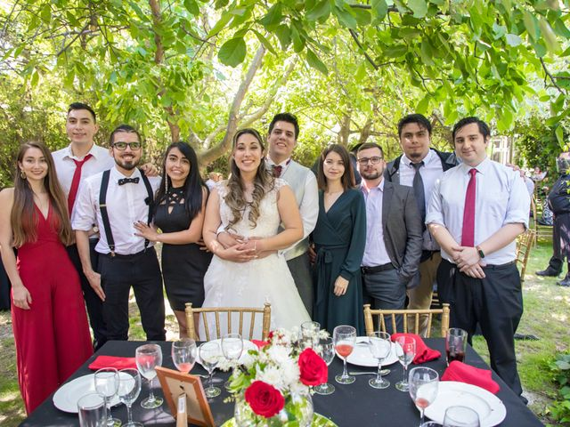 El matrimonio de Sebastian y Javiera en Calera de Tango, Maipo 143