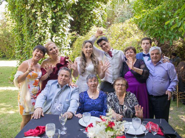 El matrimonio de Sebastian y Javiera en Calera de Tango, Maipo 144