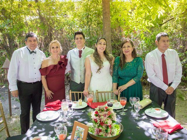 El matrimonio de Sebastian y Javiera en Calera de Tango, Maipo 145