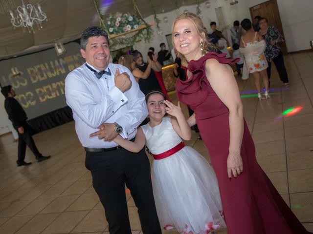 El matrimonio de Sebastian y Javiera en Calera de Tango, Maipo 160