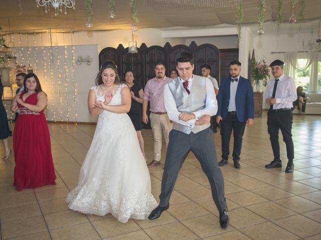 El matrimonio de Sebastian y Javiera en Calera de Tango, Maipo 166