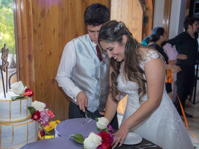 El matrimonio de Sebastian y Javiera en Calera de Tango, Maipo 189