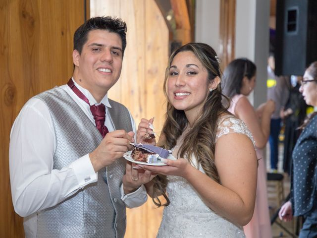 El matrimonio de Sebastian y Javiera en Calera de Tango, Maipo 192
