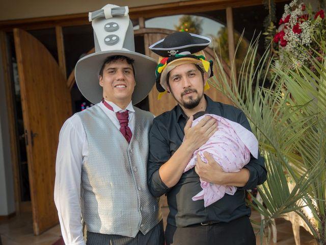 El matrimonio de Sebastian y Javiera en Calera de Tango, Maipo 204