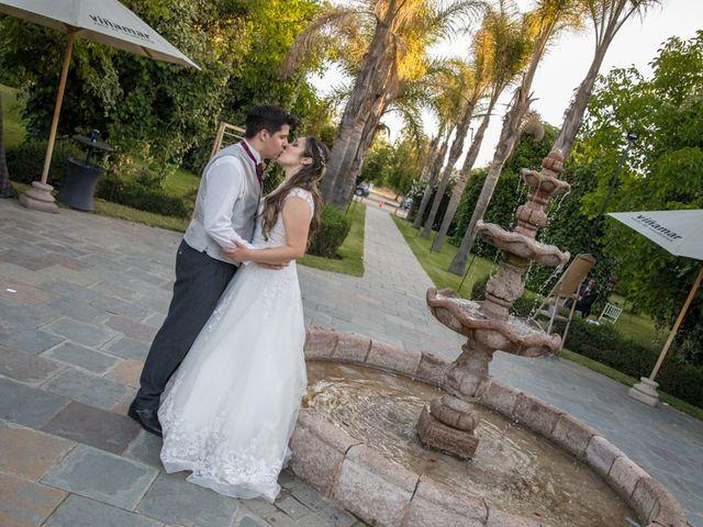 El matrimonio de Sebastian y Javiera en Calera de Tango, Maipo 207