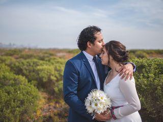 El matrimonio de María Luisa y Gabriel