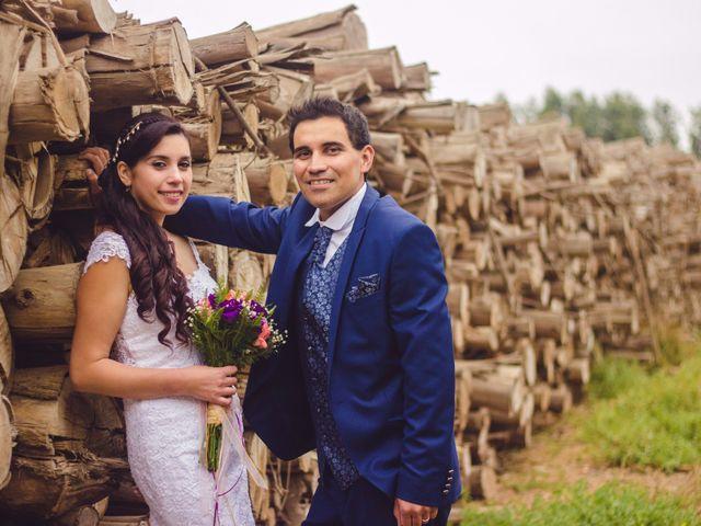 El matrimonio de Andrea y Mauricio