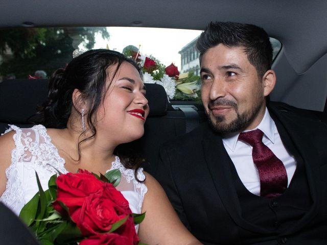 El matrimonio de Kristel y José