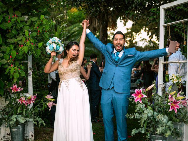 El matrimonio de Matías y Sandy
