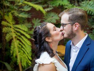 El matrimonio de Enida y Eduardo