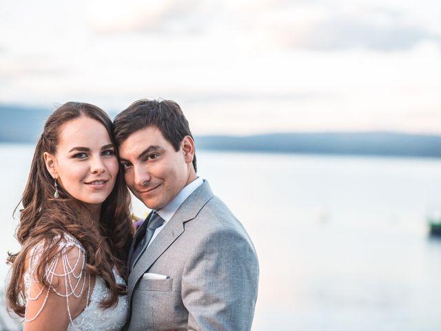 El matrimonio de Josefina y Nicolás