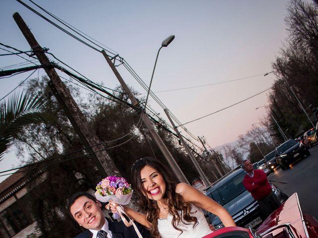 El matrimonio de Juan y Elizabeth en Pirque, Cordillera 10