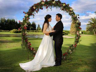 El matrimonio de Abril  y Gary