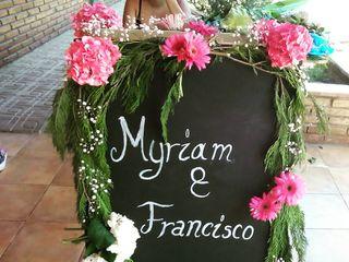 El matrimonio de Myriam y Francisco 1