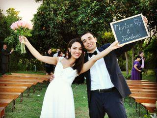 El matrimonio de Myriam y Francisco