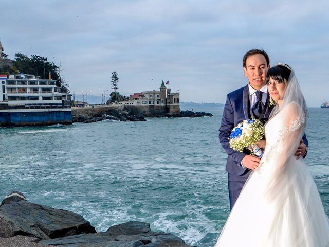 El matrimonio de María y Camilo
