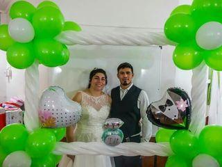 El matrimonio de Axel y Maribel