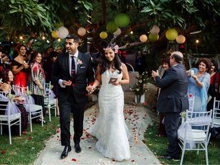 El matrimonio de Constanza  y Sergio