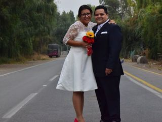 El matrimonio de Carola  y Fernando