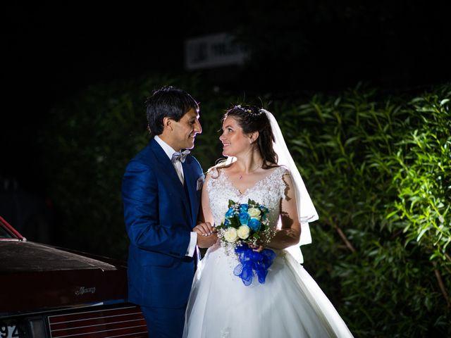 El matrimonio de Georgina y Raúl