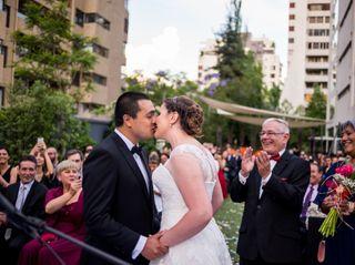 El matrimonio de Katana y Arturo