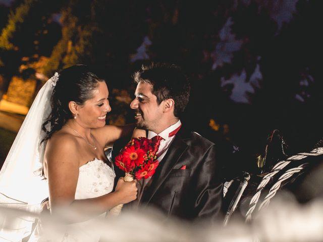 El matrimonio de Constanza y Roque