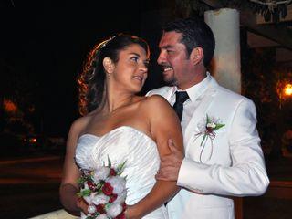 El matrimonio de Carlos y Andrea