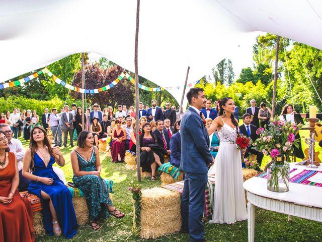 El matrimonio de Camila y José Miguel