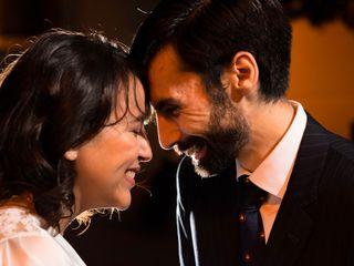El matrimonio de Leslie y Julio
