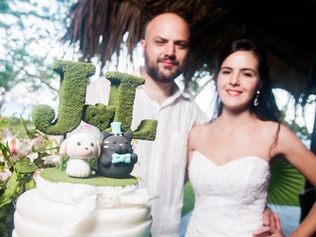 El matrimonio de Laura y Juan Carlos