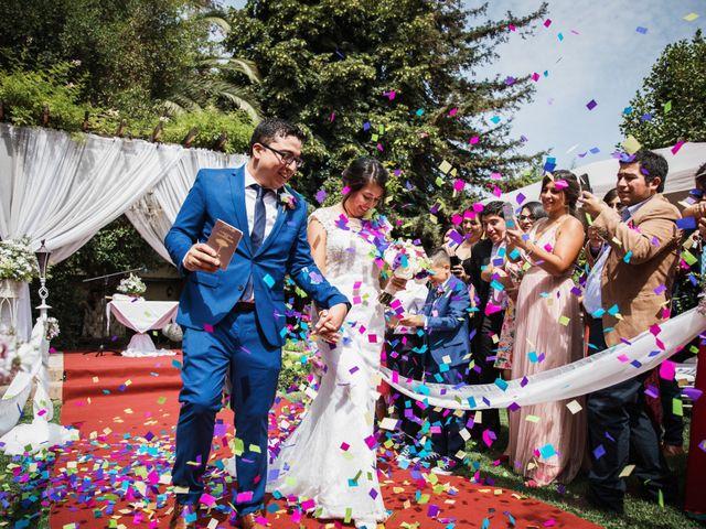 El matrimonio de Alfredo y Daniela en Graneros, Cachapoal 59