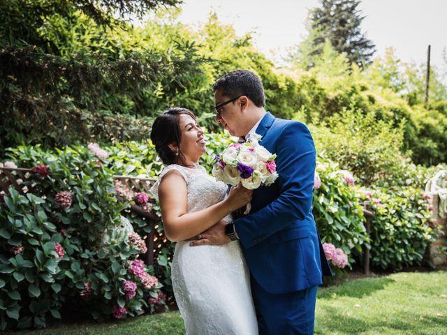 El matrimonio de Alfredo y Daniela en Graneros, Cachapoal 100