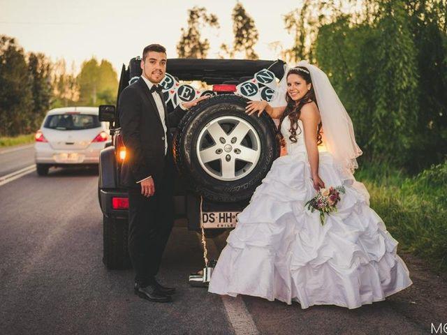 El matrimonio de Javiera y Pablo