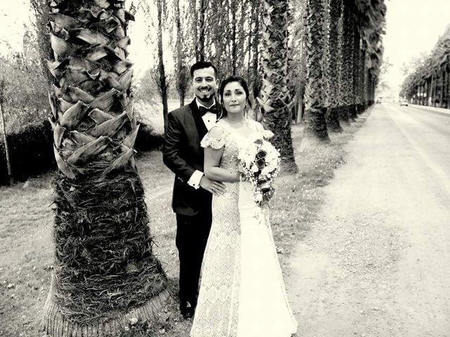 El matrimonio de Sebastián y Sandra