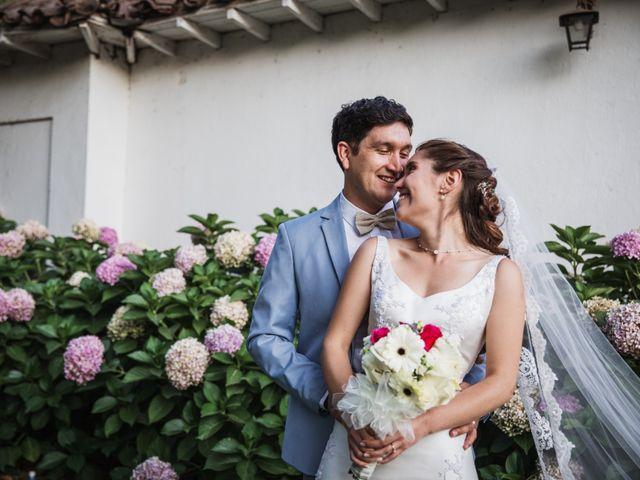 El matrimonio de Sebastián y Pailla