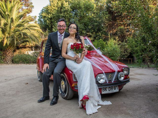 El matrimonio de Natalia y Agustín
