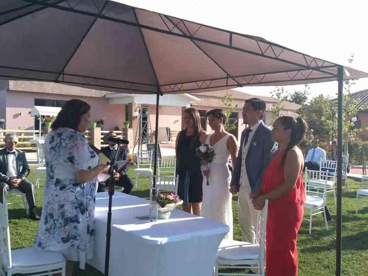 El matrimonio de Katherine  y Pablo