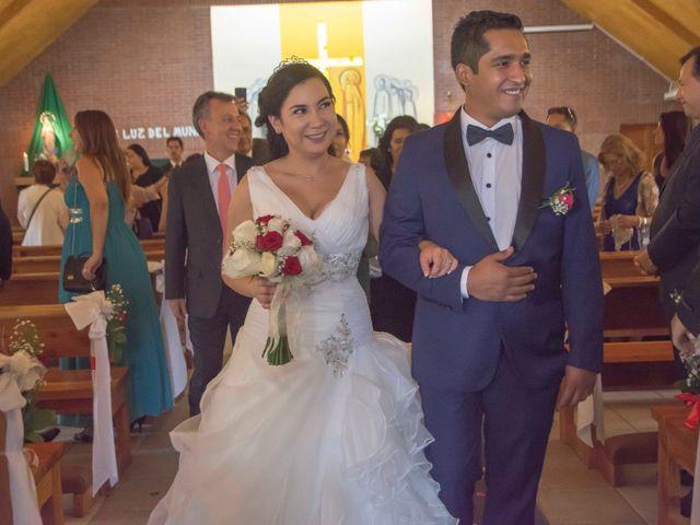 El matrimonio de Constanza y Mauricio
