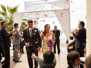 El matrimonio de Natalia y Ángel 1