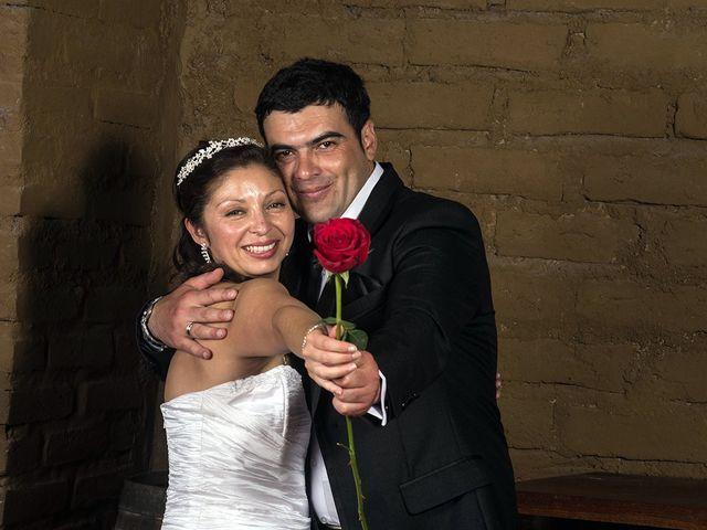 El matrimonio de Pamela y José