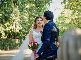 El matrimonio de Melanie y Benjamín