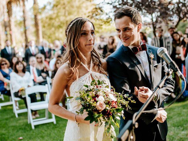 El matrimonio de Geraldine y Nicolás