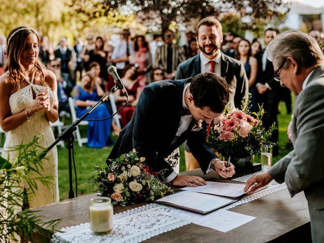 El matrimonio de Nicolás y Geraldine en Padre Hurtado, Talagante 99