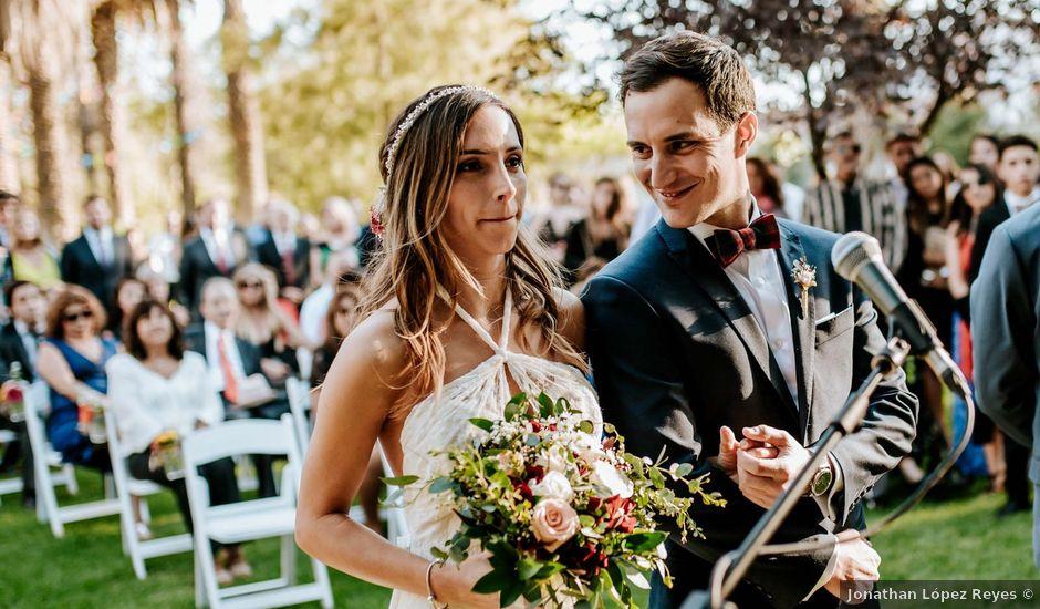 El matrimonio de Nicolás y Geraldine en Padre Hurtado, Talagante