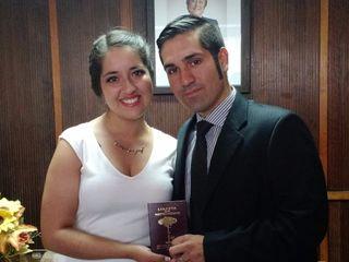 El matrimonio de Paulina y Edison