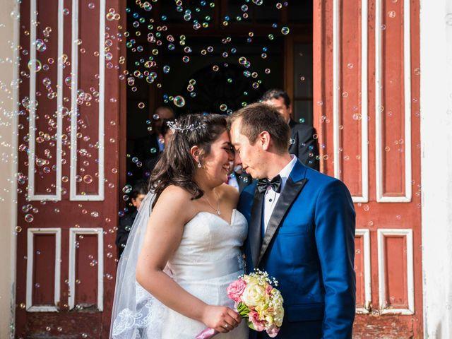 El matrimonio de María Cristina y Alejandro