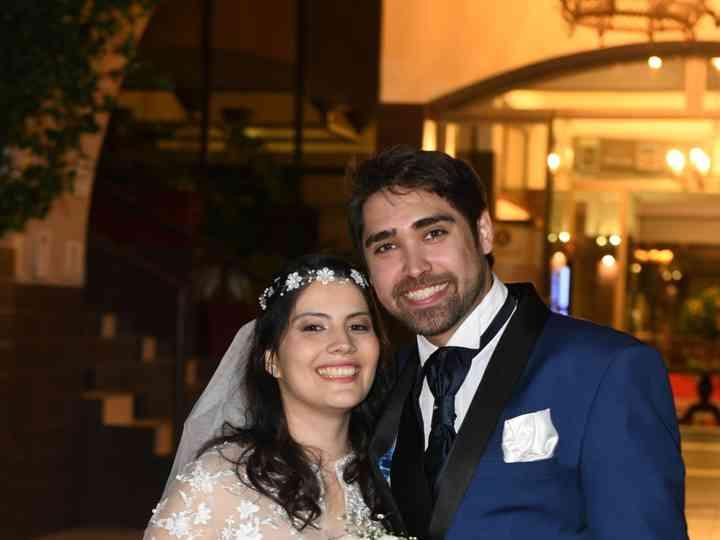 El matrimonio de Romina abarca y Francisco liebbe