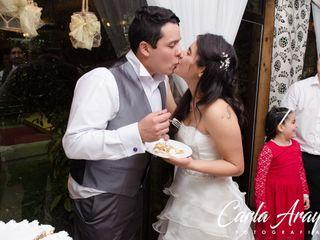 El matrimonio de Yasna y Carlos