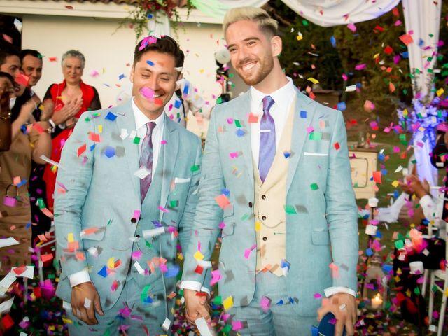El matrimonio de Robinson  y José