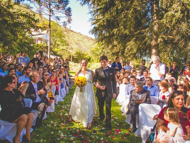 El matrimonio de Benjamín y Paloma en El Monte, Talagante 14